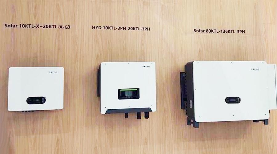 Biến tần Inverter SOFAR 80KTL 3 Pha