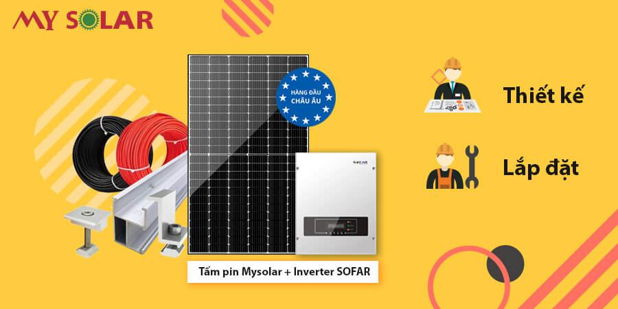 Cấu thành hệ thống điện mặt trời chất lượng tốt phụ thuộc vào yếu tố nào?