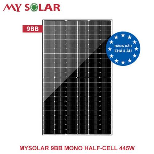 Tấm pin năng lượng mặt trời Mysolar 445W