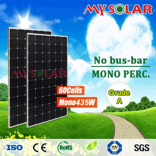 Tấm pin Solar 435W Mono công nghệ MWT