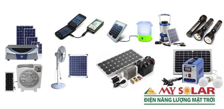các thiết bị sử dụng điện năng lượng mặt trời
