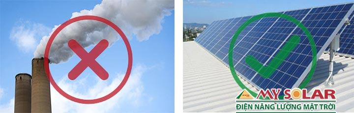 Điện năng lượng mặt trời với nhiên liệu hóa thạch