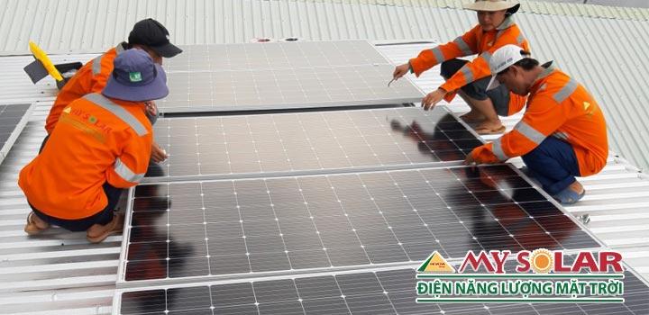 Lưu ý trước khi lắp đặt hệ thống điện mặt trời áp mái