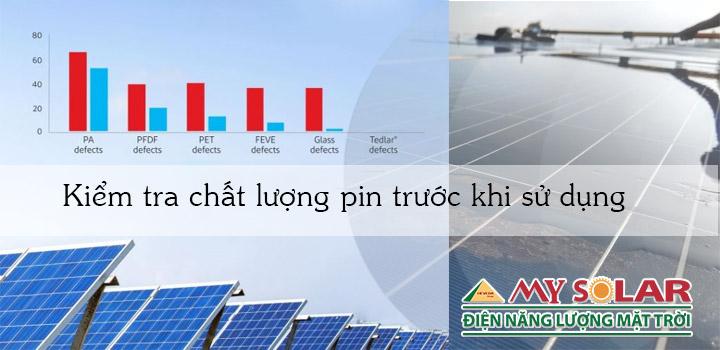 kiểm tra chất lượng tấm pin năng lượng mặt trời