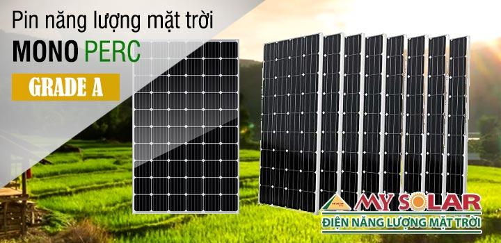 Pin năng lượng mặt trời mono perc hiệu suất cao