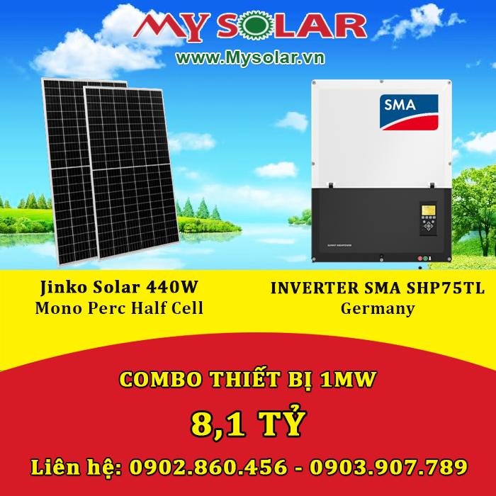 Pin năng lượng mặt trời Jinko 440W