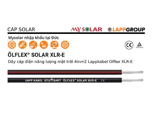 dây cáp điện DC solar Lapp Kabel