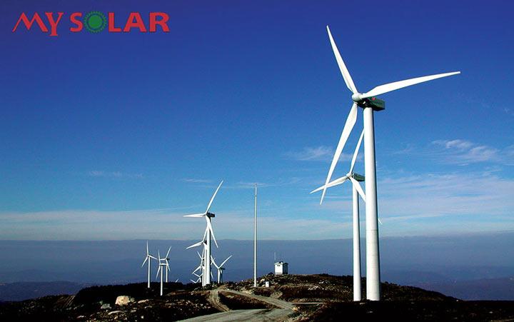 Lắp đặt hệ thống điện gió nối lưới HEVEDA