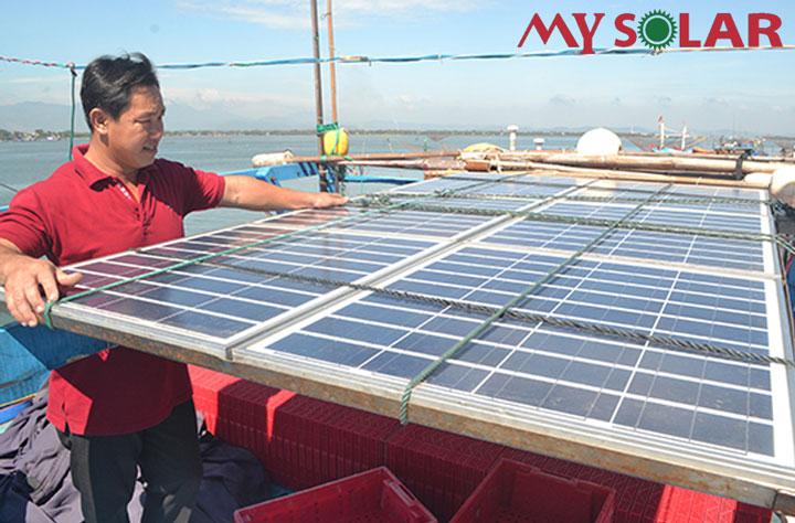 Chúng ta nhận được những lợi ích gì khi sử dụng pin mặt trời cho tàu cá?