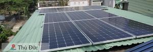 Cấu tạo cơ bản hệ thống điện năng lượng mặt trời hòa lưới