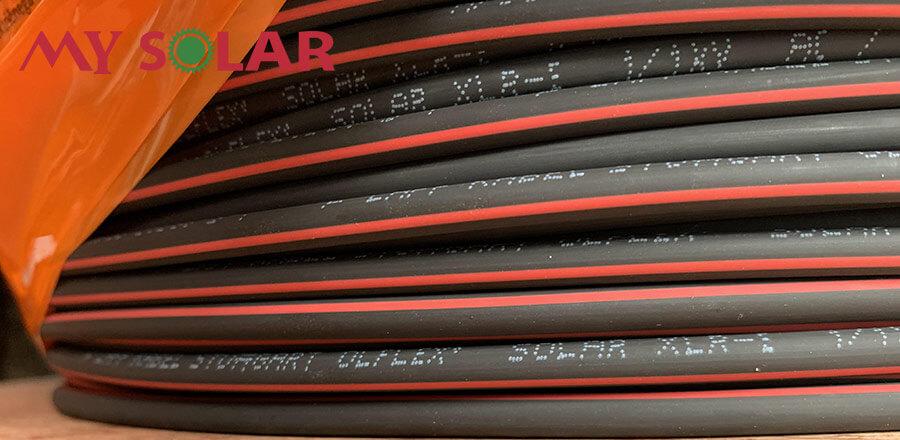 Dây cáp điện năng lượng mặt trời 4mm2 Lappkabel Olflex XLR-E - mysolar