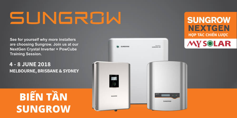 Biến tần inverter Sungrow
