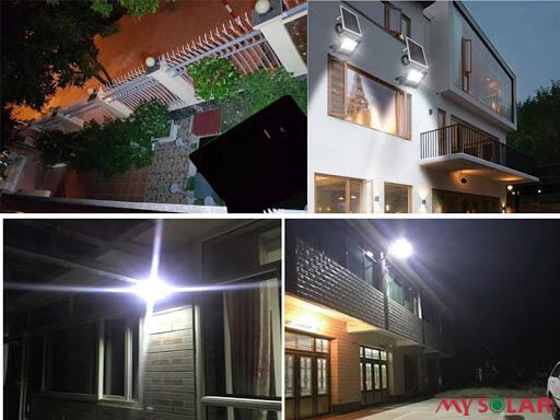 Đèn LED Ultra100% sử dụng điện năng lượng mặt trời