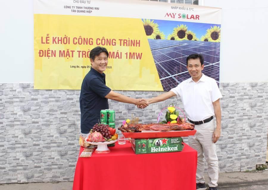 Võ Duy Lanh giám đốc điều hành mysolar